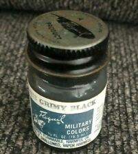 Floquil Military Colors Grimy Black 0.5 oz.