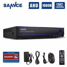 SANNCE 16CH 1080N DVR Record Video H.264 Home Surveillance Security CCTV System