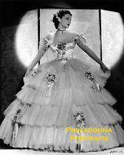 ANN SHERIDAN 8X10 Lab Photo 1934 CLARA LOU Southern Belle Gown, Early Portrait