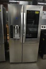 "LG LSXC22396S 36"" Stainless Side-by-Side Refrigerator NOB #49349 HRT"