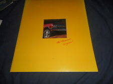 1993 Chevy Chevrolet S10 Blazer Color Brochure Catalog Prospekt