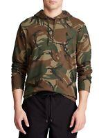 Polo Ralph Lauren Mens XLT Tall Camo Hoodie Pullover Cotton Jersey T shirt Tee
