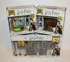 Harry Potter Great Hall Playset + Quidditch + Ollivander's Toys Figure Lot New