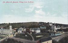 Village from River STE. ANNE DE BEAUPRÉ Quebec Canada 1904-15 Private Postcard