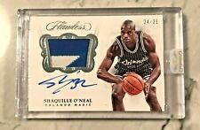 2017-18 Shaquille O'Neal Flawless PATCH AUTO  #24/25 Orlando Magic