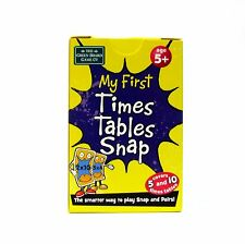 Snap Cards First Times Table Tables Game for 5+ Early Learning Numbers Game NEW