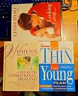 (3) Women Self Help Hardcover Books - Womens Encyclopedia Prevention Linda Dano