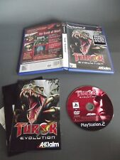 Turok: Evolution (Sony PlayStation 2, 2002) PAL PS2 GAME