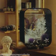 Reef One Biorb Life 15 Litre Aquarium Fish Tank LED Light Black Clear Sides L@@k