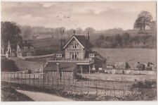 Kingswood & Burgh Heath Station 1904 Surrey Postcard, B674