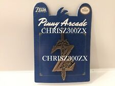 "The Legend of Zelda Breath of The Wild Master Sword Enamel Pin Metal 1.75"" Pinny"
