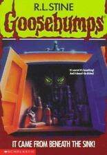It Came from Beneath the Sink! (Goosebumps, No. 30) by R. L. Stine, Good Book