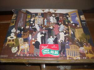 "SPRINGBOK 500 piecce puzzle, ""Party at Linette's"", brand new in box"