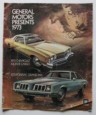 GM GENERAL MOTORS 1973 dealer brochure - English - Canada - HS1002000918