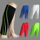 Compression Leg Pair Calf Support Graduated Sleeve Sports Socks Outdoor Exercise