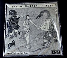 EWAN MACCOOL & PEGGY SEEGER-THE WANTON MUSE-UK IMPORT1968-FOLK-SEALED LP
