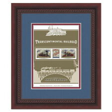 USPS New Transcontinental Railroad Framed Stamps