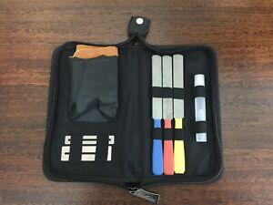 Kavaborg Fret File Kit,3 Size Fret File,2 Fingerboard guards.FST120-Full Kit