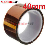 40mm 4cm x 30M Kapton Tape High Temperature Heat Resistant Polyimide