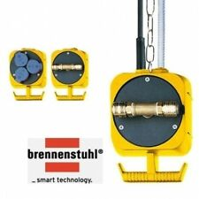 (84,88€/Einheit) BRENNENSTUHL DRUCKLUFT PENDEL STROMVERTEILER ENERGIEAMPEL 3X2