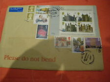 More details for 8/9/2000 various stamps on   envelope