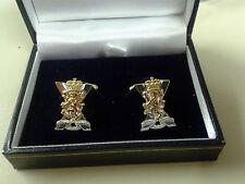 British Army Military Cufflinks Enamel Royal Regt of Scotland