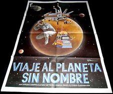 1977 This Is Planet Zero ORIGINAL POSTER koko wa wakusei zerobanchi RoBot Art