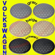 Lautsprechergitter für Seat VW GOLF 4 IV IN FARBE SCHWARZ Grill Blende NEU