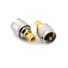 Brass Adapter PL259 UCN-J Plug Male To SMA Male Plug RF adapter Connector  CN