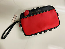 Purse victoria's Secret /Hand bag / Clutch ( Red,black And White) New