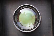 Voigtlander 9.5in f4.5 Heliar No.4 Barrel Lens  with Packard shutter 9x9 board