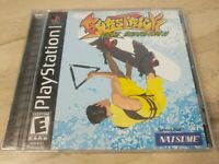 BursTrick Wake Boarding!! Sony PlayStation 1 PS1 Metro  Natsume wakeboarding