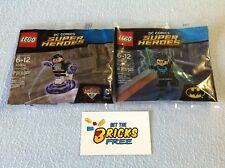 Lego Super Heroes Polybags Lot of 2 30604 & 30606 New/Sealed/Retired/H2F
