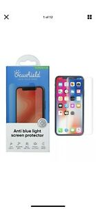 Ocushied Anti Blue Light Tempered Glass Screen Protector iPhone X/XS/XR/11 $60