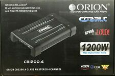 Orion - CB1200.4 - Cobalt Series 4 Channel 1200 Watts Stereo Amplifier