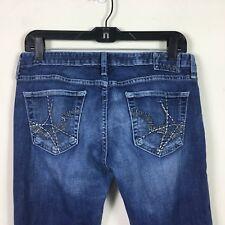 """BIG STAR Size 29 Inseam 30"""" Boot Cut Jeans Sweet 20 Dark Wash Mid Rise"""