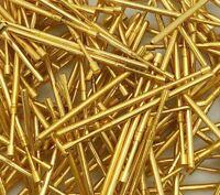 Gold Recovery - Vintage 80s Mil-Spec Pogo Pin Scrap Refining lot - 50 Gram