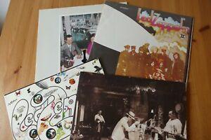4 verschiedene LP s LED ZEPPELIN   Sammlung  Vinyl   (2)