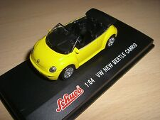 VW NEW BEETLE CABRIO GIALLO SCHUCO 1:64
