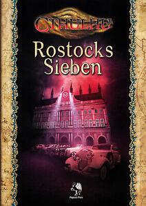Cthulhu: Rostocks Sieben - Abenteuerband - NEU