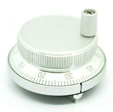 TECNR 60mm CNC Electronic Pulser Rotary Encoder Handwheel 5V 4-Pin 100 Pulse PPR