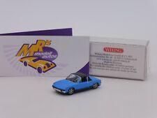 """Wiking 0792 07 # VW Porsche 914 Volksporsche Bj. 1969-76 """" hellblau """" 1:87 NEU"""