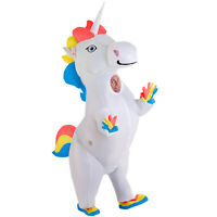 Giant Prancing Unicorn Inflatable Costume Adult Blow Up Fancy Dress Parade Pride