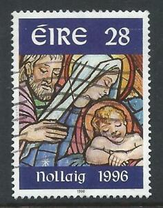 Ireland 1996 Christmas.  The Holy Family Good Used Stamp