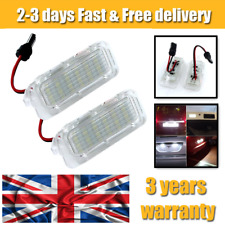 Licence Number Plate Light LED For Ford Fiesta Focus MK C-Max Kuga Mondeo Jaguar