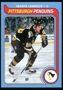 2008-09 O-PEE-CHEE Retro Mario Lemieux SP Card #570 Penguins