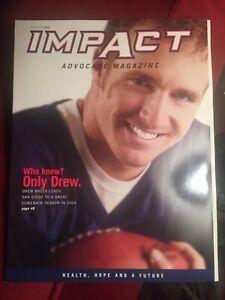 Drew Brees - Advocare Magazine 2005
