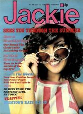 JACKIE MAGAZINE #758 BOOMTOWN RATS COLOUR POSTER, JEFREY BYRON, KID JENSEN