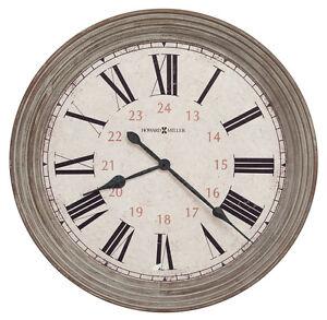 "HOWARD MILLER NEW OVER-SIZED GALLERY WALL CLOCK 30.75""  ""NESTO"" 625-626"