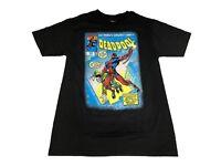 Marvel Comics Deadpool Comic Book Cover Vintage Men's T shirt Small & Large